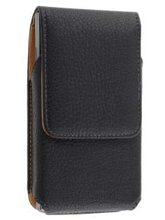 Textured Synthetic Leather Vertical Belt Pouch for LG Prada 3.0 - Belt Pouch