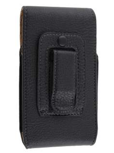 Textured Synthetic Leather Vertical Belt Pouch for LG Optimus Black P970