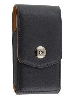 Textured Synthetic Leather Vertical Belt Pouch for HTC Touch HD2 - Belt Pouch