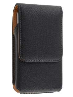 Textured Synthetic Leather Vertical Belt Pouch for Samsung Galaxy Xcover S5690 - Belt Pouch