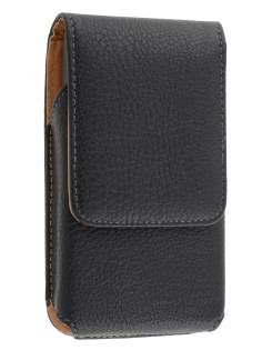 Textured Synthetic Leather Vertical Belt Pouch for Samsung Omnia 7