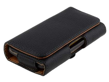 Textured Synthetic Leather Belt Pouch for HTC EVO 3D