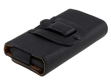 Textured Synthetic Leather Belt Pouch for HTC Desire HD