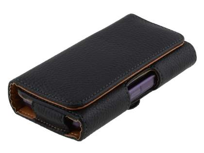 Textured Synthetic Leather Belt Pouch (Bumper Case Compatible) for LG Optimus Black P970