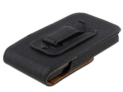Textured Synthetic Leather Vertical Belt Pouch for Samsung I9100 Galaxy S2