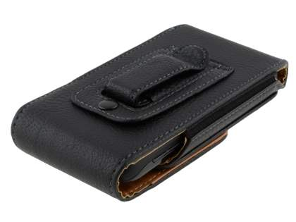 Textured Synthetic Leather Vertical Belt Pouch for Motorola ATRIX 2 MB865