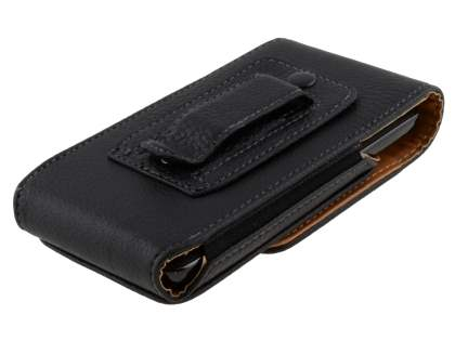 Textured Synthetic Leather Vertical Belt Pouch for HTC HD7