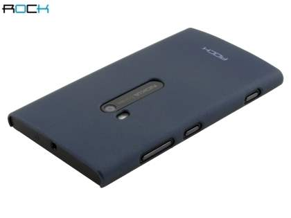 ROCK Nakedshell Rubberised Case for Nokia Lumia 920 - Mettalic Grey