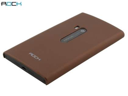 ROCK Nakedshell Rubberised Case for Nokia Lumia 920 - Bronze