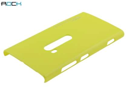 ROCK Nakedshell Glossy Colour Case for Nokia Lumia 920 - Lime Lemon