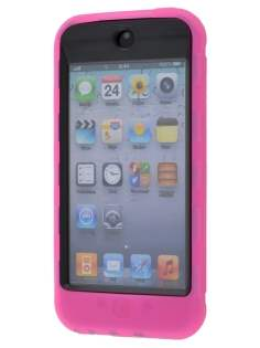 iPod Touch 5 Defender Case - Hot Pink/Black