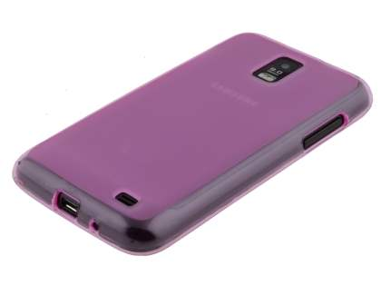Samsung I9210T Galaxy S II 4G TPU Gel Case - Frosted Pink