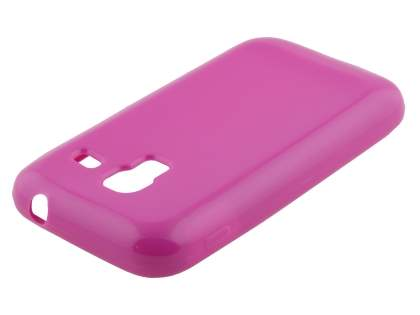 Colour TPU Gel Case for Samsung Galaxy Ace Plus S7500 - Pink