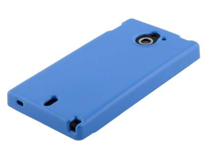 Sony Xperia Sola MT27i Colour TPU Gel Case - Blue