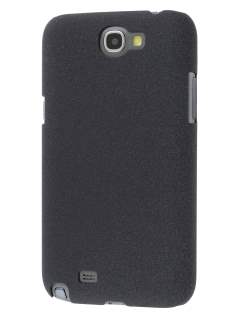 Sandblasted Hard Case for Samsung N7100 Galaxy Note II - Black Hard Case
