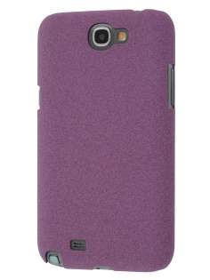 Sandblasted Hard Case for Samsung N7100 Galaxy Note II - Purple Hard Case