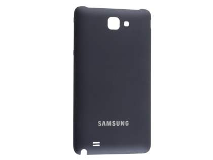 Genuine Samsung Galaxy Note Battery Cover - Classic Black Battery Cover