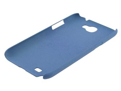 Sand Blasted Hard Case for Samsung N7100 Galaxy Note II - Cornflower Blue