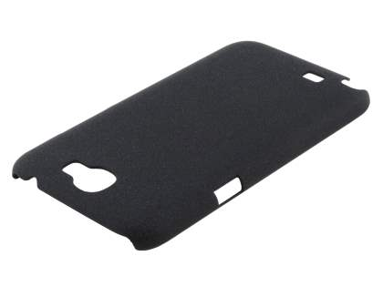 Sand Blasted Hard Case for Samsung N7100 Galaxy Note II - Black