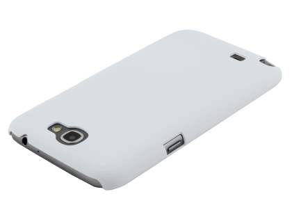 Sand Blasted Hard Case for Samsung N7100 Galaxy Note II - Pearl White