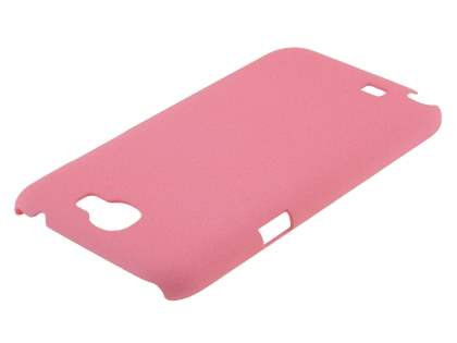 Sand Blasted Hard Case for Samsung N7100 Galaxy Note II - Pink