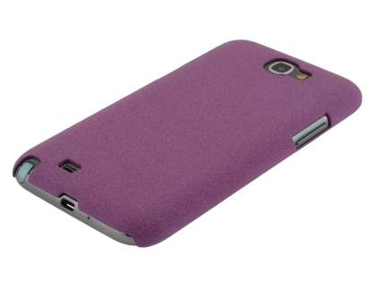 Sand Blasted Hard Case for Samsung N7100 Galaxy Note II - Purple