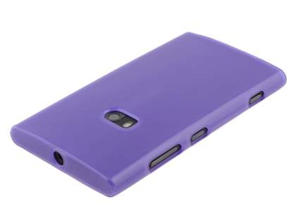 TPU Gel Case for Nokia Lumia 920 - Frosted Purple