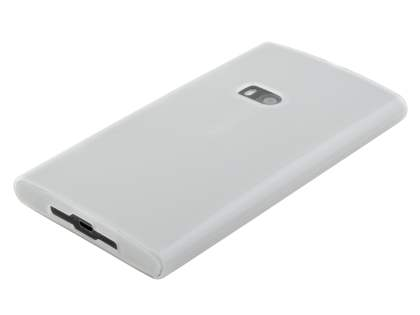 Nokia Lumia 920 TPU Gel Case - Frosted Clear