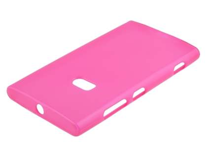 TPU Gel Case for Nokia Lumia 920 - Frosted Pink