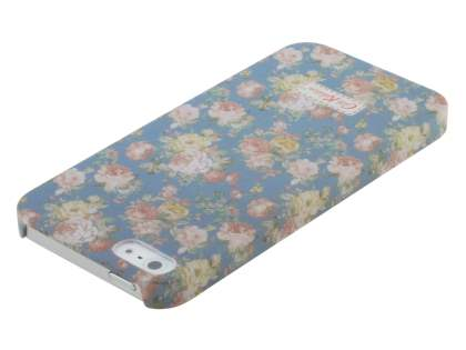 Vintage Inspired Lacquered Shell Case for the iPhone SE/5s/5