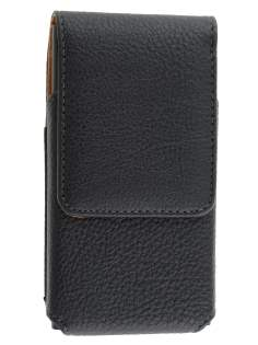 Textured Synthetic Leather Vertical Belt Pouch for Nokia Lumia 920