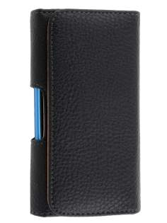 Textured Synthetic Leather Belt Pouch (Bumper Case Compatible)  for Sony Xperia Sola MT27i