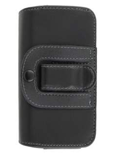 Extra-tough Genuine Leather ShineColours belt pouch for Sony Xperia Sola MT27i