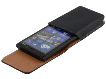 Smooth Synthetic Leather Vertical Belt Pouch for Nokia Lumia 920