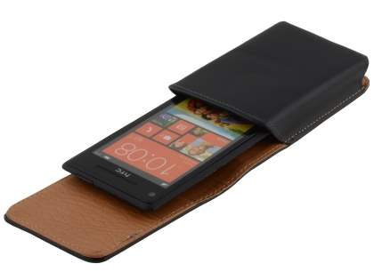 Smooth Synthetic Leather Vertical Belt Pouch for HTC Windows Phone 8X