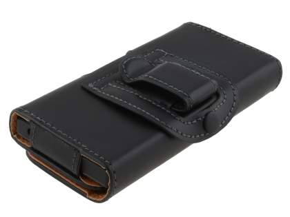 Smooth Synthetic Leather Belt Pouch for Sony Xperia Sola MT27i