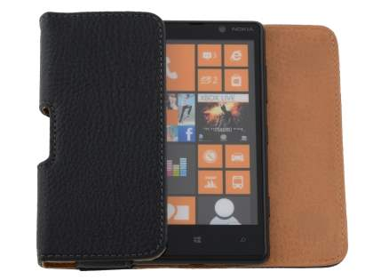 Textured Synthetic Leather Belt Pouch for Nokia Lumia 820