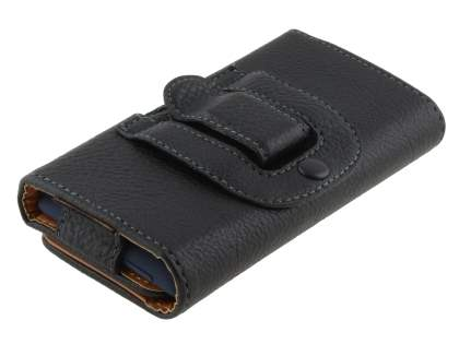 Textured Synthetic Leather Belt Pouch for HTC Windows Phone 8S
