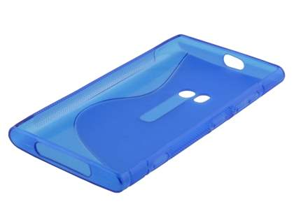 Nokia Lumia 920 Wave Case - Frosted Blue/Blue