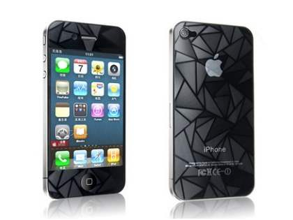 Crystal Screen and Back Protector for iPhone 4/4S