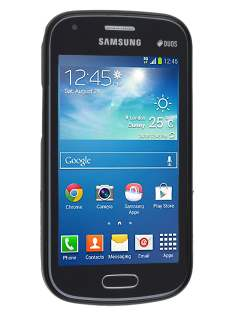 Samsung Galaxy Trend Plus S7583T / S Duos S7562 Frosted TPU Case - Classic Black