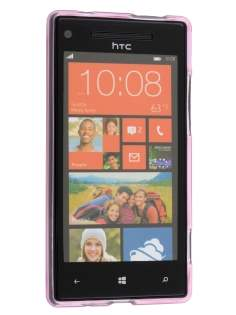 HTC Windows Phone 8X Frosted TPU Case - Light Pink