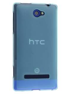 Frosted TPU Case for HTC Windows Phone 8S - Light Blue