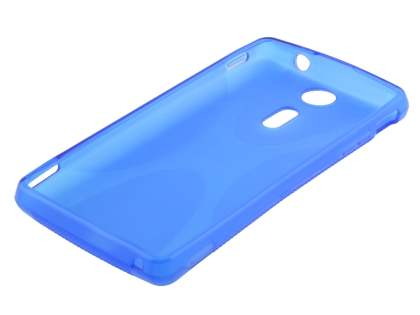 Sony Xperia TX LT29i X-Case - Frosted Blue/Blue