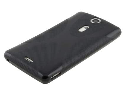 X-Case for Sony Xperia TX LT29i - Frosted Black/Black