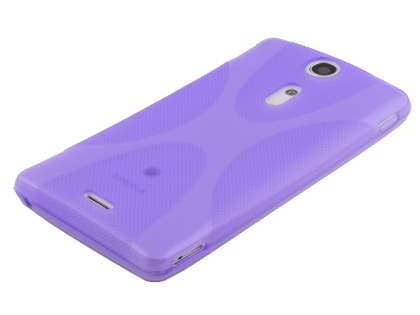 Sony Xperia TX LT29i X-Case - Frosted Purple/Purple