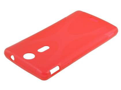 Sony Xperia TX LT29i X-Case - Frosted Red/Red
