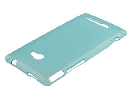 HTC Windows Phone 8X Frosted TPU Case - Light Blue