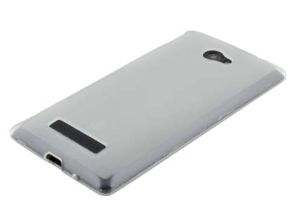 HTC Windows Phone 8X Frosted TPU Case - Frosted Clear
