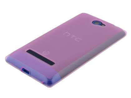 Frosted TPU Case for HTC Windows Phone 8S - Frosted Pink